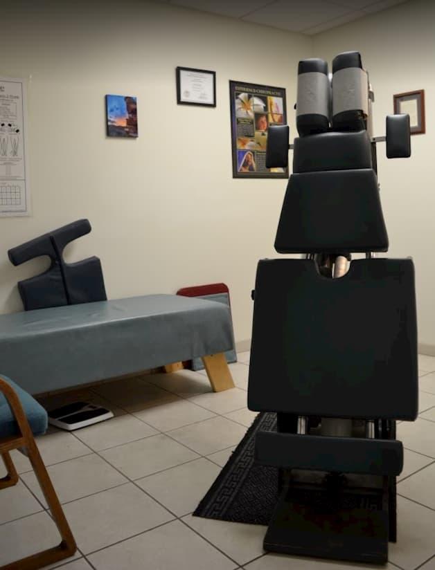 Chiropractic Services Dr. Gochee Crossroads Wellness Treatment Room