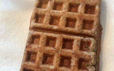 Gluten-Free, Dairy-Free, Sugar-Free, Egg-Free Waffles