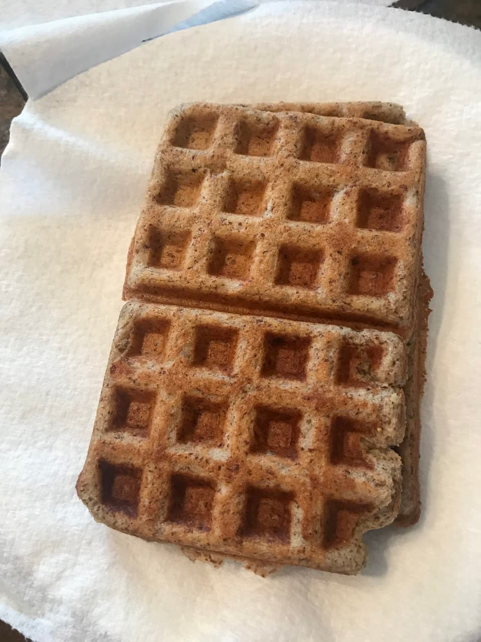 Gluten Free Waffle recipe for the 21 day reset