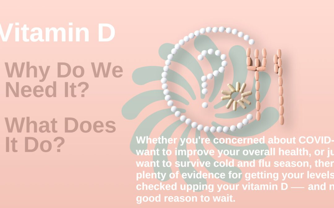 Vitamin D:  Why Do We Need It?  What Does It Do?