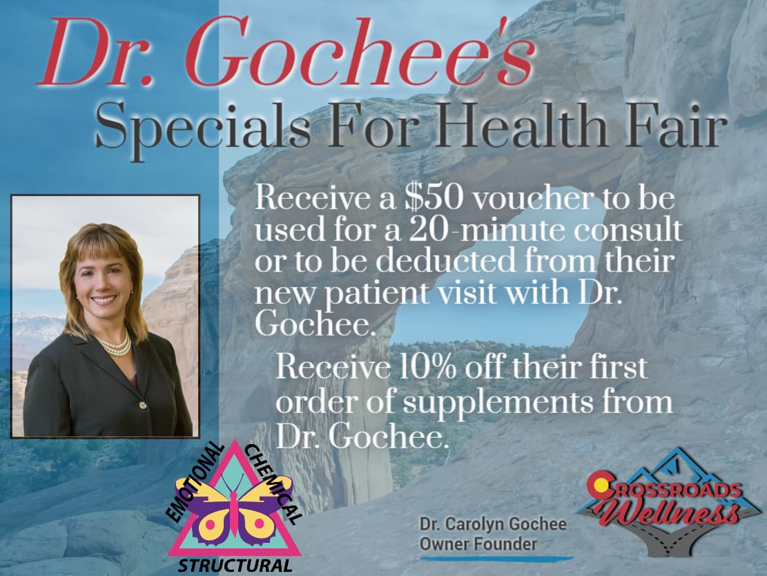 2021 Specials For Health Fair